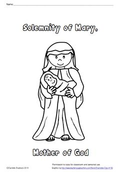 Free St. Therese Color and Pray Printable