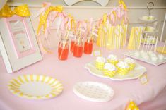 Dessert table at a Curious George birthday party! See more party planning ideas at CatchMyParty.com!