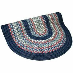 """Pioneer Valley II Olympic Blue with Dark Blue Solids Rug Size: Runner 2'3"""" x 9' . $241.00"""
