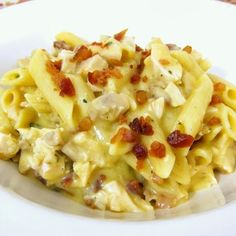 Chicken Ranch Pasta. Quick and easy recipe family will love.