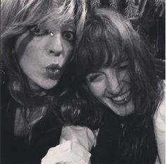 Florence Welch and Isabella Summers