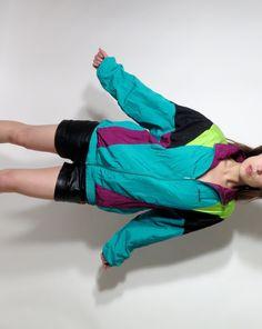 Etsy の Vintage Adidas Trefoil Neon Windbreaker M by JustGiza Vintage Windbreaker, Vintage Adidas, Neon, Etsy, Fashion, Moda, Fashion Styles, Neon Colors, Fashion Illustrations