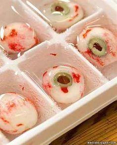 Eyeball Highball Eye Cubes | 28 Creepy Treats Perfect For Halloween