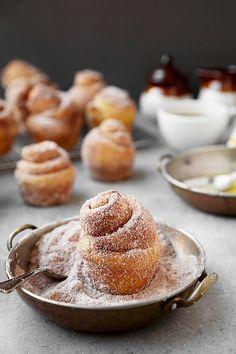 Pumpkin Sugar Buns - The Candid Appetite