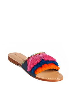 Fringe Fatale Sandal - TrinaTurk