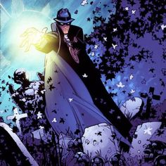 """The Phantom Stranger was one of the four mystics (along with John Constantine, Mister E and Dr. Occult/ Rose Psychic, later dubbed """"The Trenchcoat Brigade"""" by Constantine) sent to guide Tim Hunter, a boy with the potential to become the greatest mage in history, on his way by introducing him to the magical and inter-dimensional world of"""