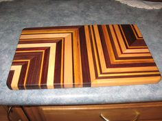 Cheese Board By ASH Woodshops Fruit Death Table Handcrafted Kitchen Board For the Home Chef End Grain Butcher Block Board