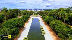 Espelho D´Agua - Parque da Redenção - POA | Dhronix Imagens com Drones - www.dhronix.com.br Drones, Rio Grande, Orlando, Parque Linear, Pocket Park, Urban Nature, Sidewalk, Landscaping, Arquitetura