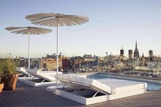 @Yurbban Trafalgar, #Barcelona, 2015 | design by Raquel Sogorb | more at www.archilovers.com #terrace #outdoor #city #skyline
