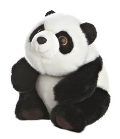 "Lin-Lin Sitting Panda Bear 9"" Stuffed Animal Aurora https://www.amazon.ca/dp/B006UPHXJK/ref=cm_sw_r_pi_dp_8LMtxb0T25GJC"