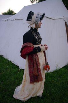regency spenser\bonnet\reticule