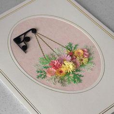 Quilled flower birthday card quilling by PaperDaisyCardDesign, £6.20