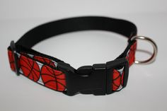 Basketball Adjustable Dog Collar by TheCollarAuthority on Etsy, $12.00