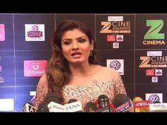 Raveena Tandon looks STUNNING at Zee Cine Awards 2017. India Gate, Awards 2017, Looking Stunning, Youtube, Youtubers, Youtube Movies