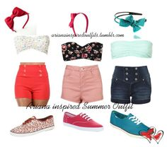 Ariana Grande Inspired Summer Outfits