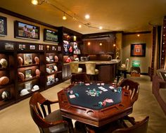 Man Cave: Poker Room