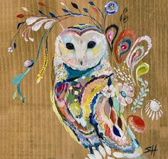 Mystic Owl - eclectic - artwork - austin - by Skyline Art Editions Eclectic Artwork, Owl Artwork, Skyline Art, Illustrations, Bird Art, Oeuvre D'art, Cool Art, Art Projects, Images