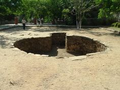 Large 300s era church ruins at Maryemana Evi, the Virgin Mary's home.  A large baptismal pool and foundations.