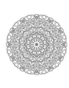 ≡ coloring page Mandalas