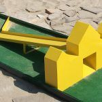 mini golf and putt putt obstacles for all types of miniature golf courses Miniature Golf, Putt Putt, Golf Courses, Layout, Fun, Dolphins, Page Layout, Hilarious
