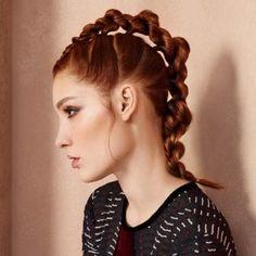 außergewöhnliche stylische Frisuren. Gefällt uns