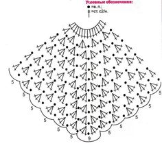 poncho granny, ma version - mamie jeannette tricote mais pas que . - Her Crochet Crochet Baby Poncho, Crochet Poncho Patterns, Crochet Girls, Crochet For Kids, Crochet Shawl, Baby Knitting, Knitting Patterns, Free Knitting, Crochet Diagram