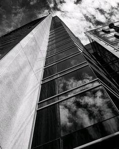 Marriott Courtyard Downtown Montreal⠀ ⠀ #architecture #skyscraping_architecture #lookuparchitecture #instaarchitecture⠀ #mtlphoto #mtlphotographer #igersmontreal #blackandwhitephoto #blackandwhitephotography #bnw_mtl #photooftheday Montreal Architecture, Looking Up, Black And White Photography, Opera House, Louvre, Building, Black White Photography, Construction, Opera