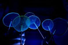 Glow in the dark lollipop