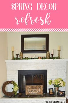 I love getting all of my spring decor out and making my home feel brighter. Today I am sharing with you 5 tips to give your home a spring decor refresh.