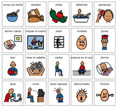 photograph about Visual Cue Cards Printable named Visible helps (Spanish)