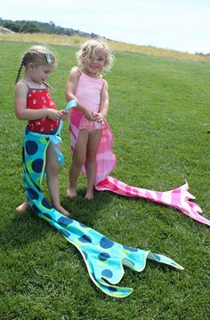 Stitch To My Lou: Mermaid Tail Towel Tutorial Meerjungfrau schwanzflosse zum umbinden