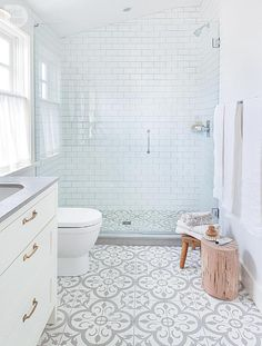 Splendor in the Bath. Modern Eclectic Home Tour.