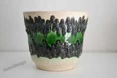 Fat Lava planter by the West German company Bay 43  by RetroMungo, €27.50
