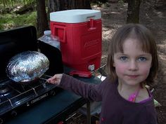 CAMP COOKING WITH KIDS