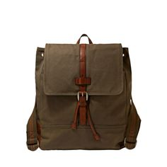 Fossil Canvas and Leather Emerson Rucksack MBG9148 | ®