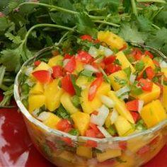 Mauigirl's Mango Salsa Allrecipes.com