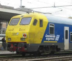 Info on the Leonardo express train from the airport.