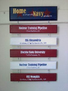 Home is where the Navy sends us.. i know someone that has this.. totally doing it!