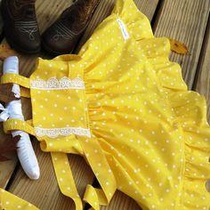 Girls Yellow Dress, Little Girls Ruffle Dress,Easter baby Dress,Toddler Easter dress, Flower Girls Dress,KIds Clothes.Birthday Girls Dress.