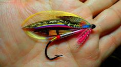 SILVER WILKINSON Hook: Partridge CS6 4/0  By Yuji Wabe