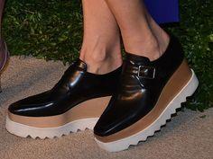 春の準備は靴からプラットフォームシューズを選びたい