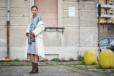 70+ Photos Of Milan's Most Over-The-Top Street Style #refinery29  http://www.refinery29.com/2016/03/104781/milan-fashion-week-fall-winter-2016-street-style-pictures#slide-50  A lesson in creative vintage dressing, courtesy of Jenny Walton....