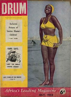 Drum was a South African weekly magazine founded in In the and it was an important chronicler of black political and social life, and Drum's reporters covered many of the major anti-apartheid protests and events. Drum Magazine, Jet Magazine, Black Magazine, Apartheid, John Johnson, Black Pin Up, Afro, Vintage Black Glamour, Diahann Carroll