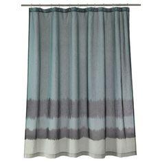 Nate Berkus Dip Dyed Shower Curtain