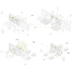 Prize in the Competition of a New Library in las Tablas Madrid. Congrats to the winner Picado De Blas. We are very honored to get… Architecture Concept Diagram, Architecture Panel, Architecture Drawings, Architecture Diagrams, Landscape Drawings, Function Diagram, Diagram Design, Library Inspiration, 3d Max