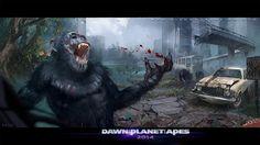 Diego de Almeida - dawn of the planet of the a by Diegodealmeida