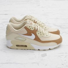 official photos a847d 0ecb4 nike-womens-air-max-90-beachwhite-4 Zapatillas De Dama
