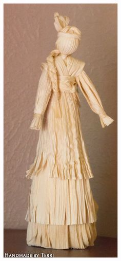 Native American Indian and Baby  Corn  Husk Doll by CornHuskCrafts
