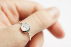 UNDER THIS MOON / Ring Personalised lunar phase by gemagenta