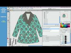 ▶ Photoshop Tutorial for Fashion Design (23/24) Tool Presets, Brushes Palette, Levels - YouTube